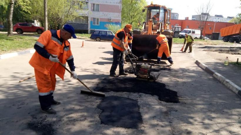 Более 22,5 тысяч ям устранили во дворах Подмосковья